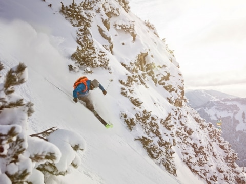 Wintersport Skifahren