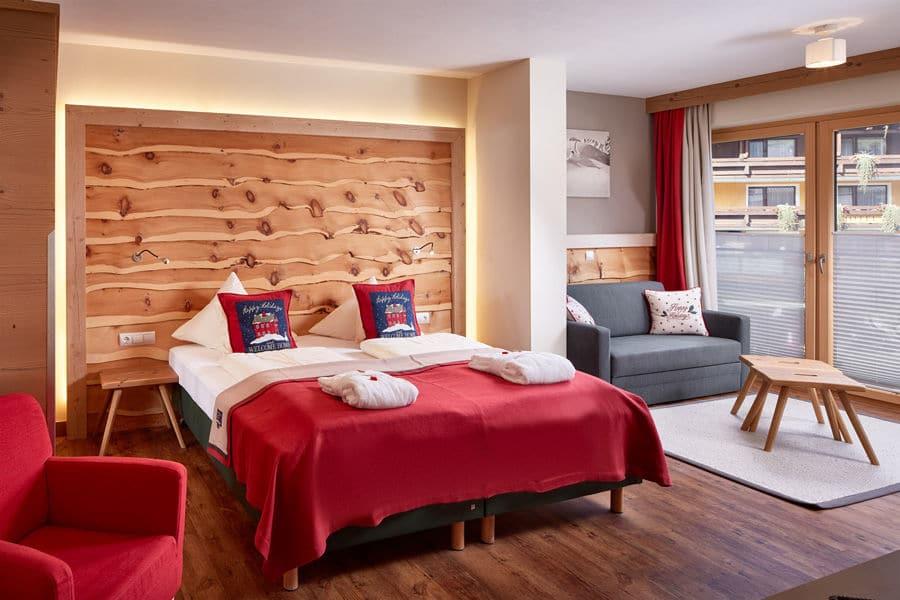 Junior Suite Schattenbergblick Doppelbett