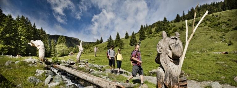 Sommerzeit in Saalbach mit Freunden