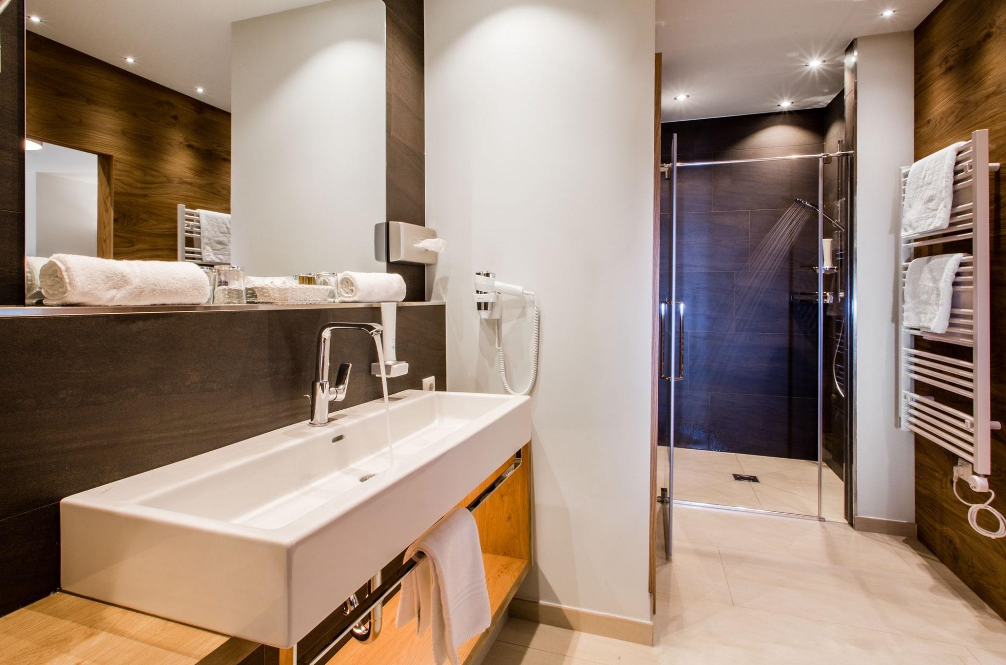 Hotel Hasenauer Badezimmer