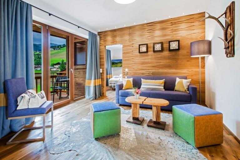 Hotel Hasenauer Wohnzimmer