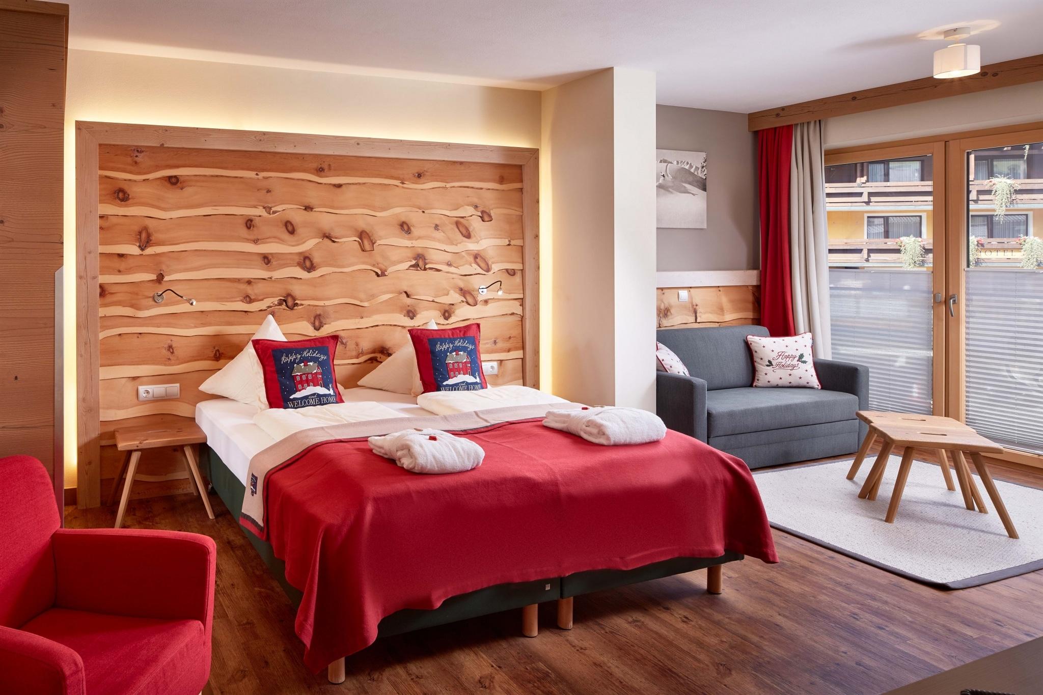 Schatternberg Bett und Sitzecke