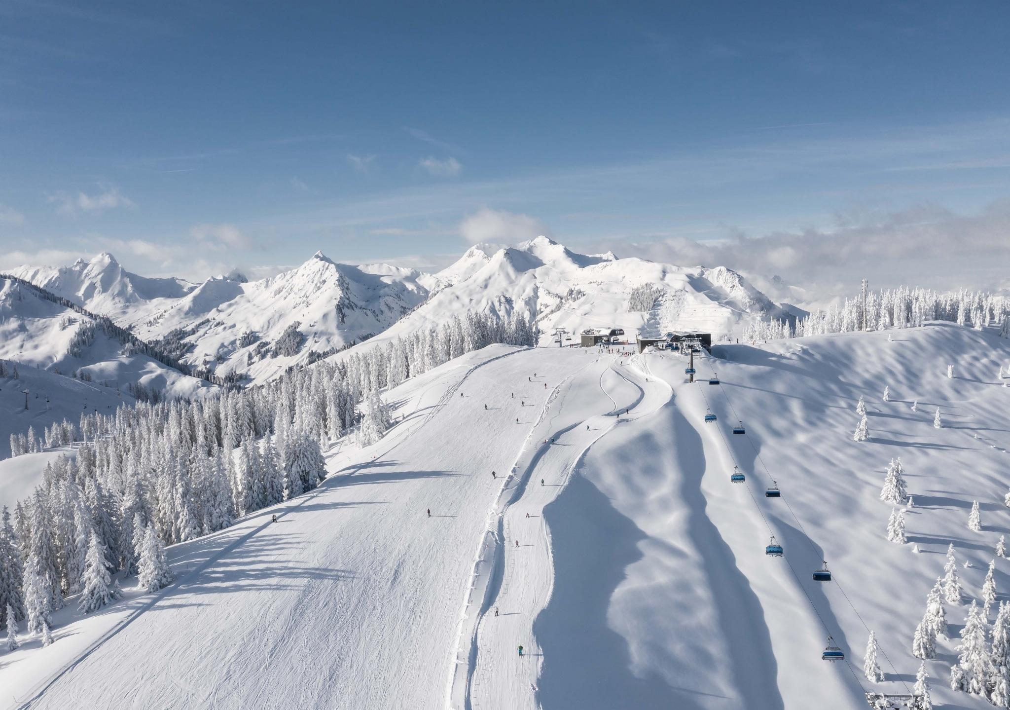 Winter in Saalbach Hinterglemm
