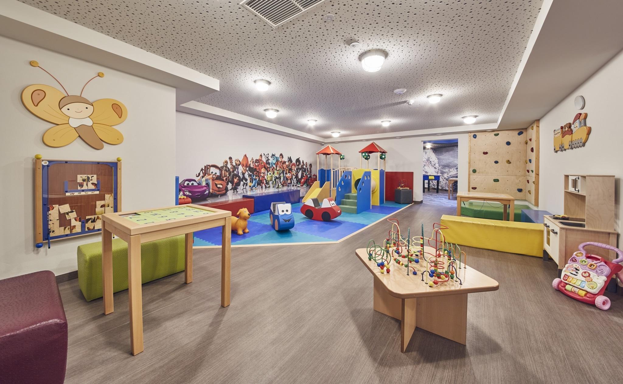 Überblick über den Kleinkind-Bereich in der Familien-Spielewelt