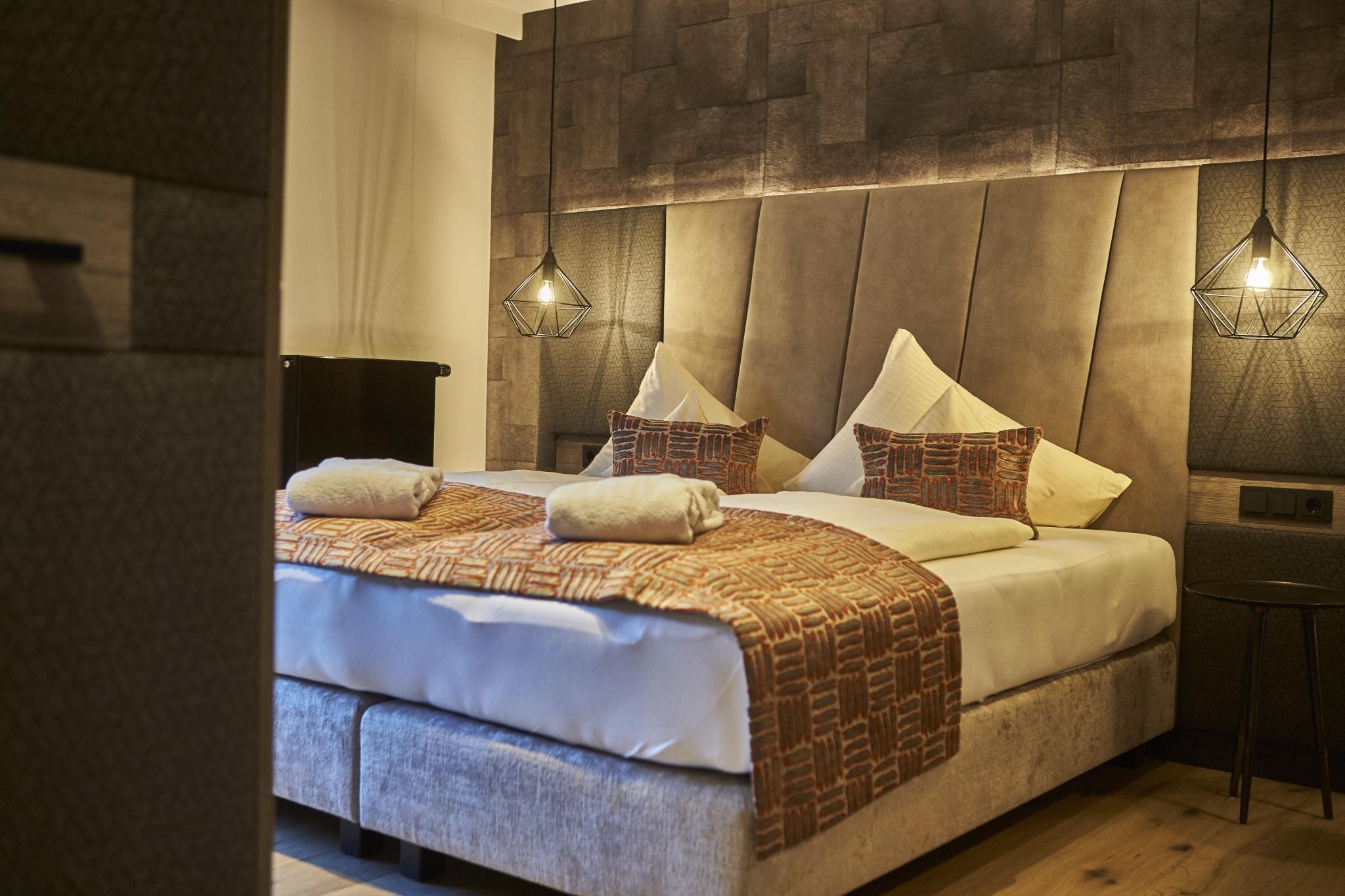 Doppelzimmer Hochalm Schlafbereich