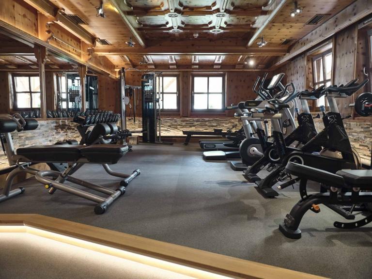 Fitnessraum im Hotel Hasenauer